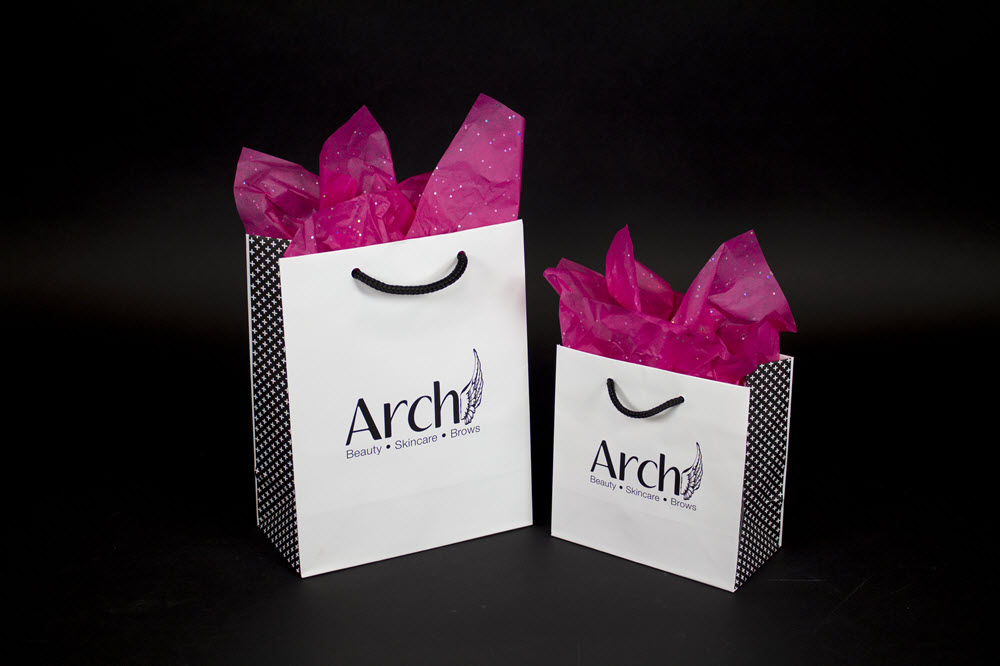 Custom Printed Eurototes for Arch Apothacary