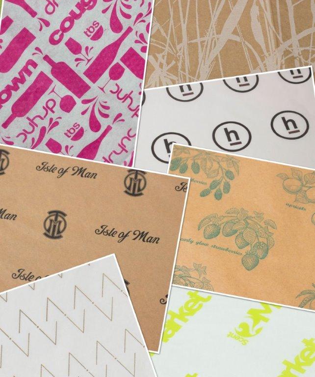 howard packaging Custom Printed Recycled Tissue Paper