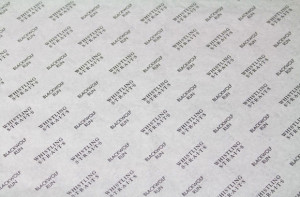 custom tissue paper BLACKWOLF WHITE TISSUE