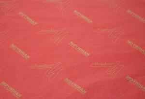 custom tissue paper MOYHAN RED TISSUE