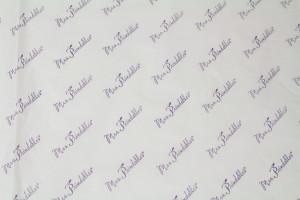 custom tissue paper MRS PRINDLES WHITE TISSUE